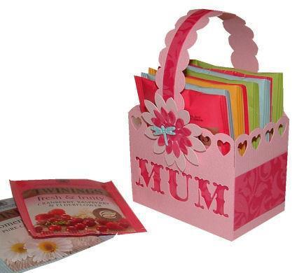 Mum Mini Basket  - chocolates, teabags etc