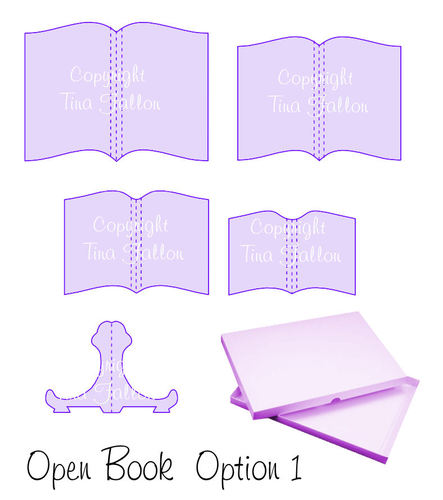 Open Book Set Option 1 svg format