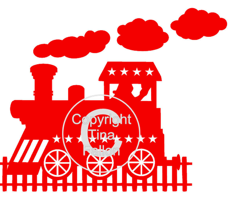 Express Steam Train -  card or vinyl (personalisation allowed)