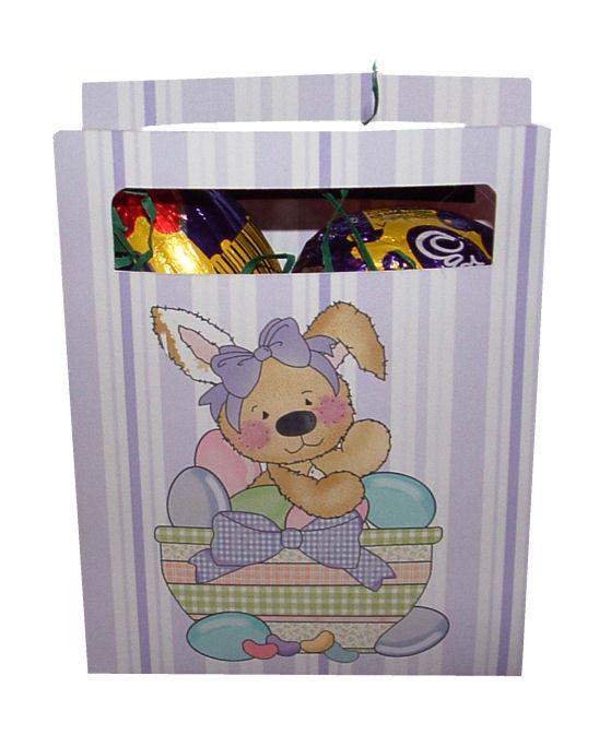 Cute Easter Chocolates Gift Bag  No 7 -  print n cut studio cutting file