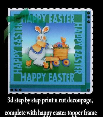 Easter Card 7   studio print n cut.