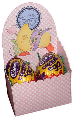 Easter  Chocolate Box A -    print n cut studio cutting file