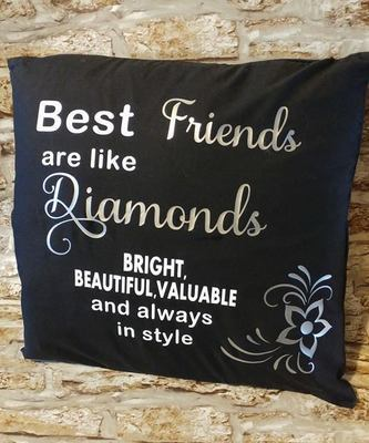 Best Friends are like Diamonds quote