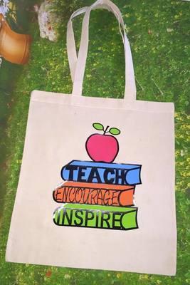 TEACHER - Teach Encourage Inspire for HTV vinyl