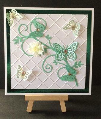 Butterfly topper embellishment - svg