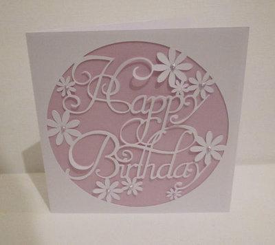 Happy Birthday 3  Card Template