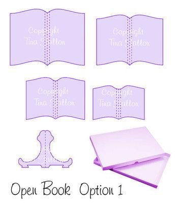 Open Book Set Option 1 svg format