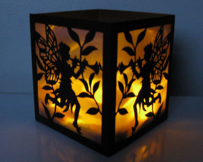 Fairy Time 22  LED Tealight Luminaire SVG FORMAT