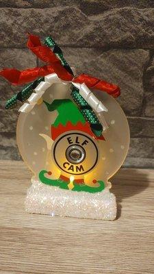 Elf Cam - Santa Father Christmas is watching 3 multi choice files FCM Scan n Cut