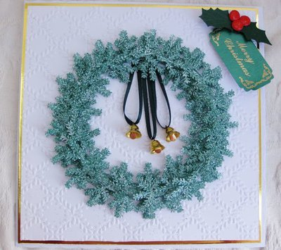 Christmas Snowflake Wreath Topper