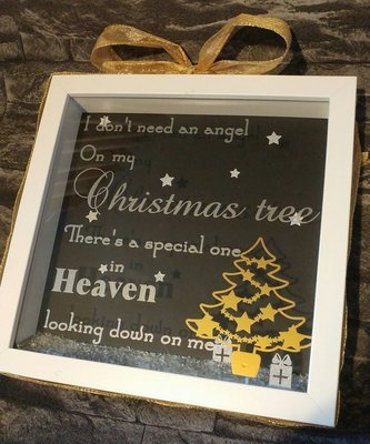 I / We don't need an Angel on our Christmas Tree - Rememberance quote SVG + SCUT