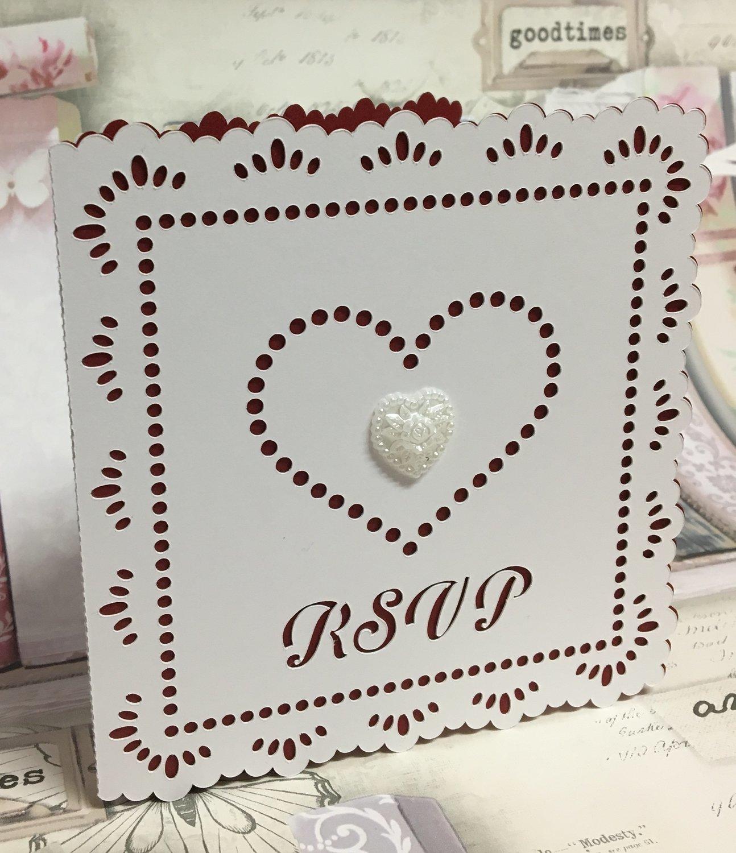 Wedding Hearts RSVP