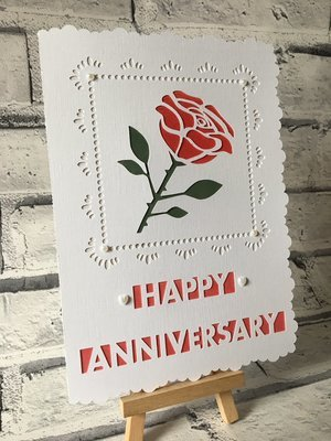 Happy Anniversary Rose Anniversary.