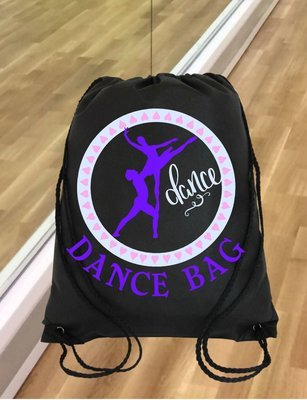 Ballet Dance Kit Bag Design 3 - studio format for HTV vinyl