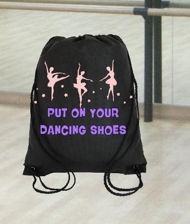 Ballet Dance Kit Bag Design 4 - studio format for HTV vinyl