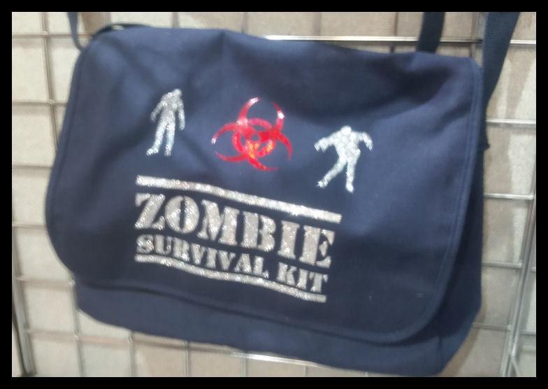 Zombie quote  - for HTV vinyl