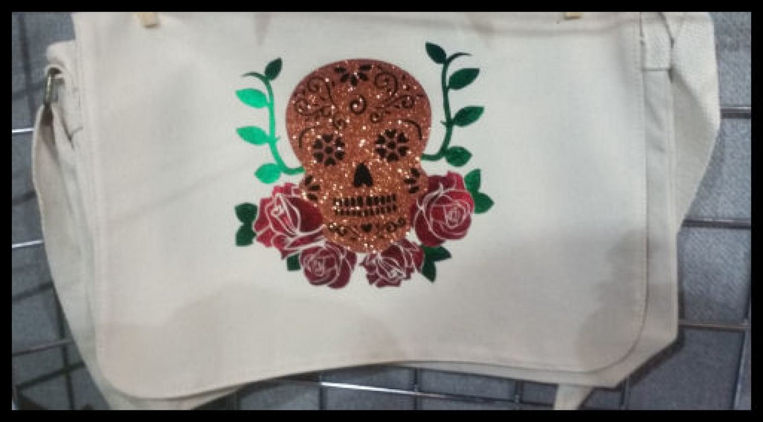 Sugar Skull and Roses   - for HTV vinyl