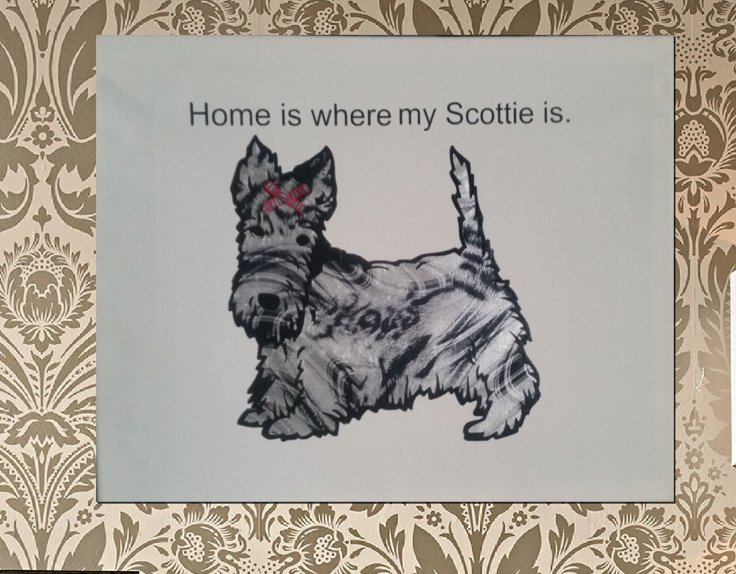 Scotty Dog  , Terrier 2 layered file