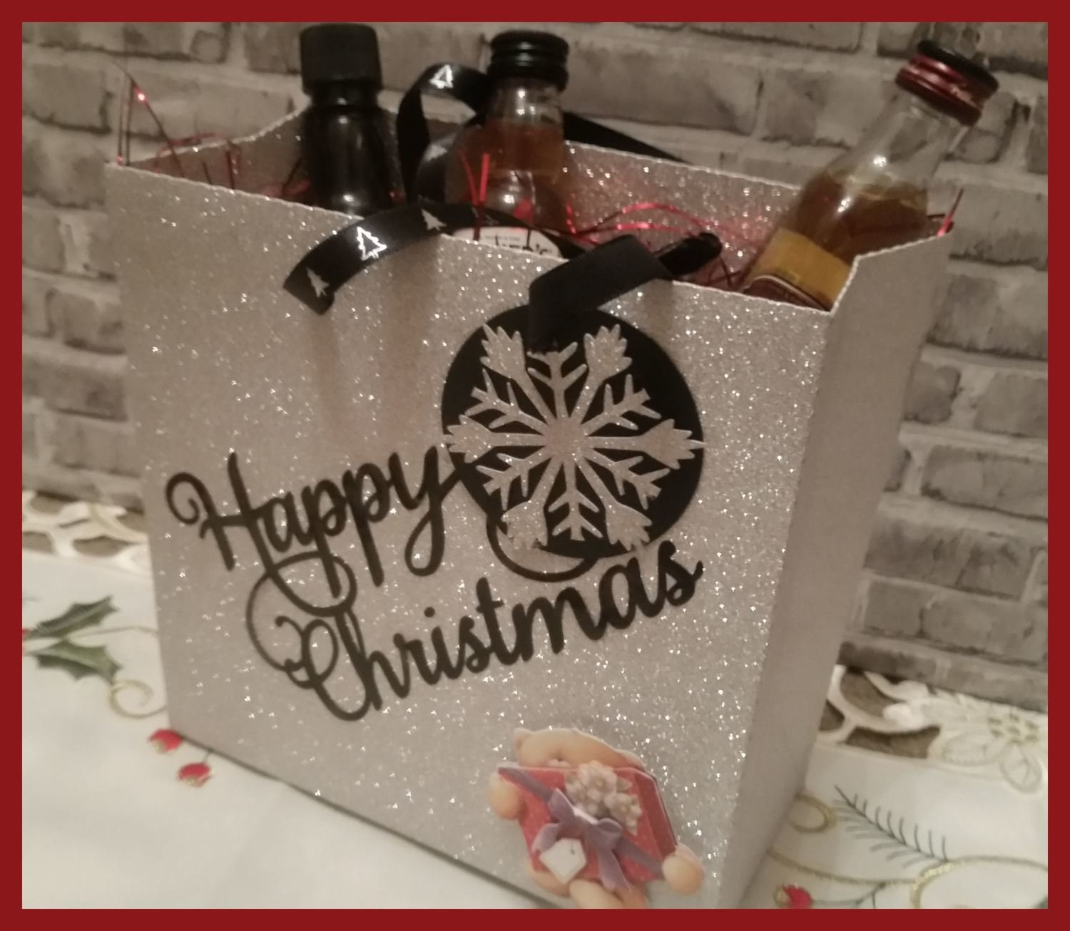 Large Gift Bag -  Sturdy with a double layer base