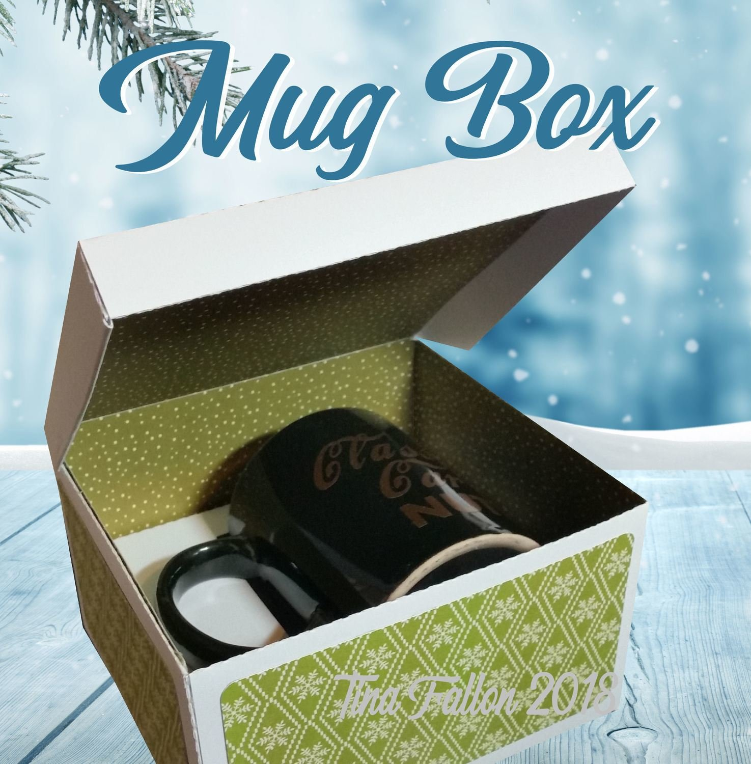 Mug Gift Box  - needs A3 card