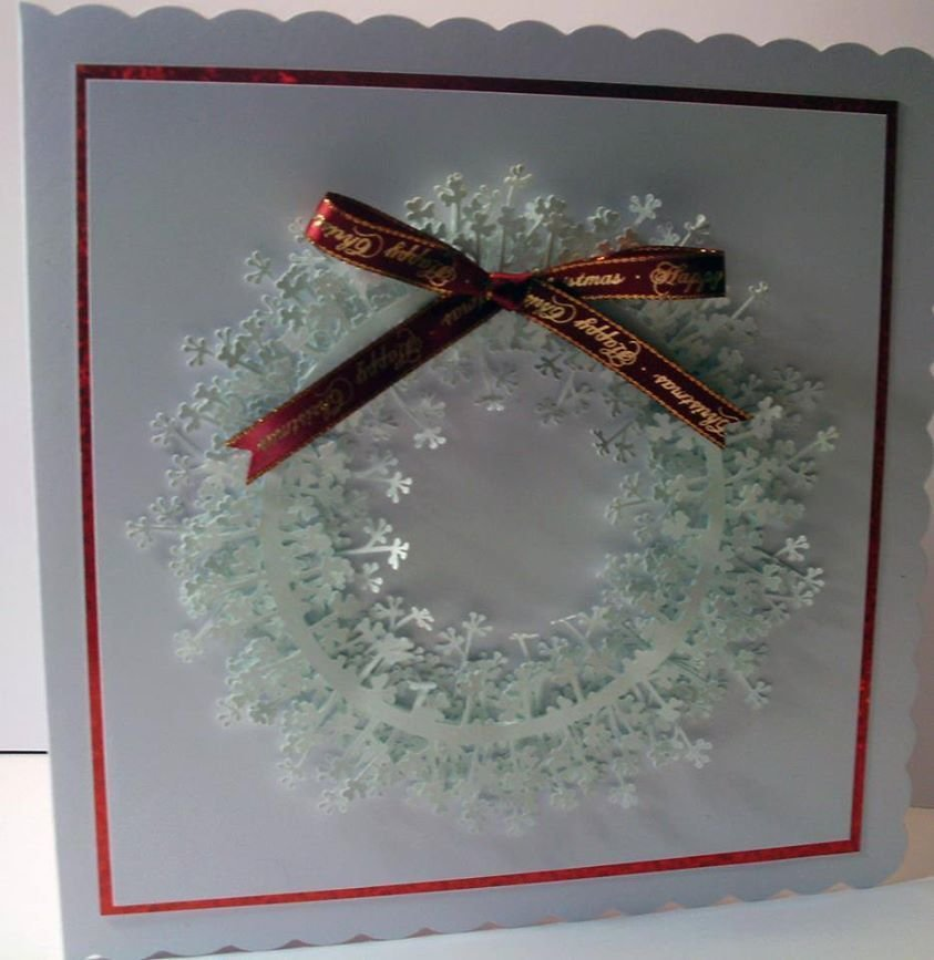 Christmas Branch Wreath Topper