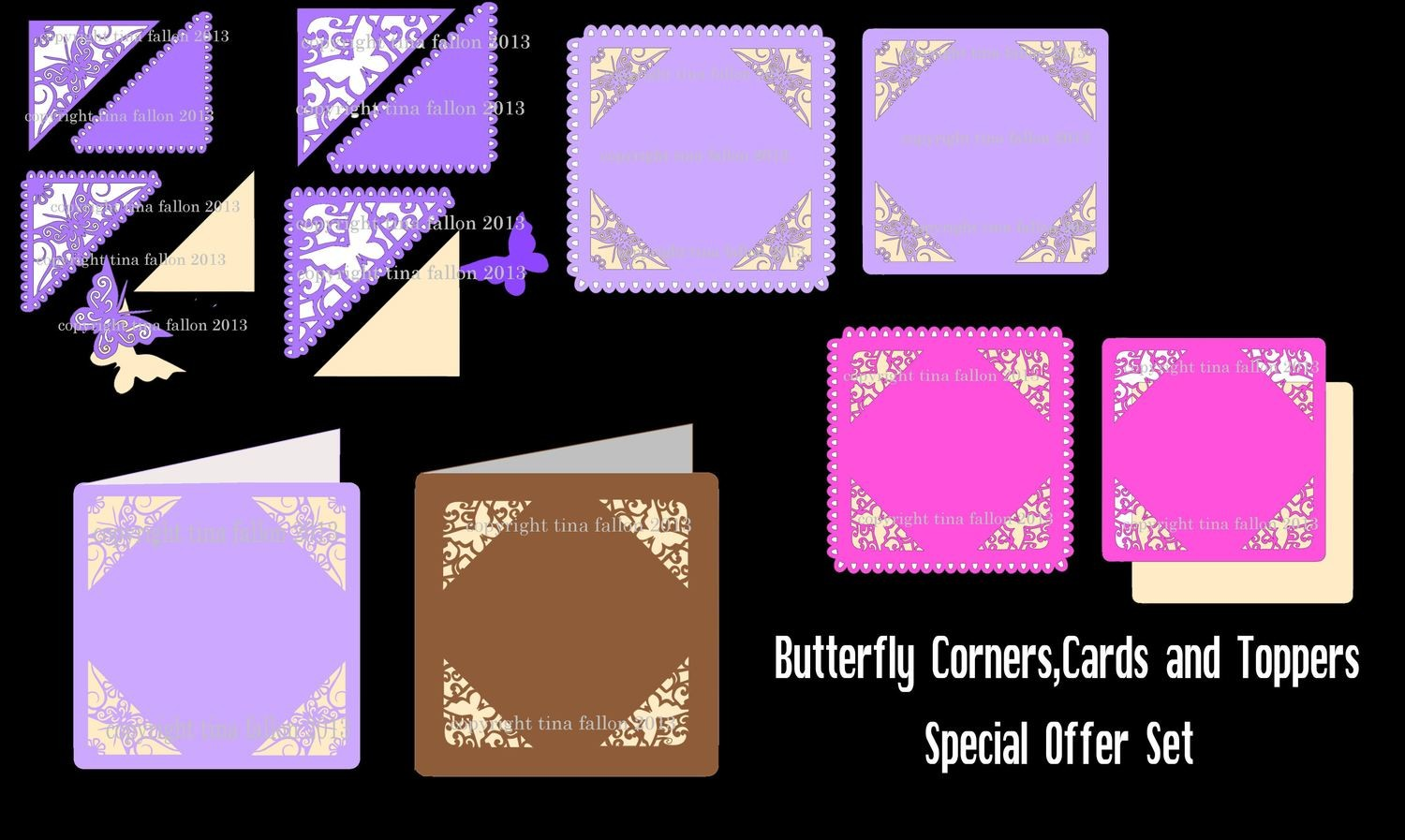 Butterfly Corners FULL SET SPECIAL OFFER