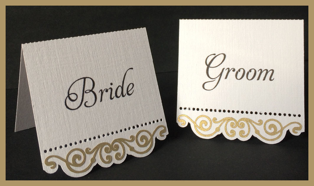 The Bridal Collection -   Place Name cards style 1