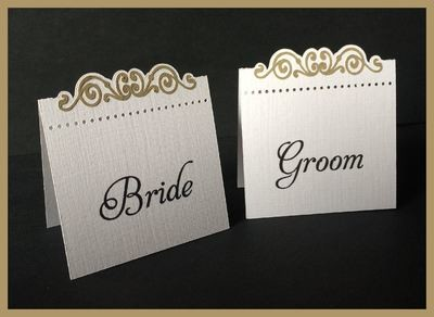 The Bridal Collection -   Place Name cards style 2