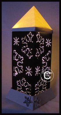 3d Lantern - Lamp - Snowflakes