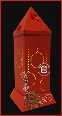 3d Lantern - Lamp - Christmas Baubles