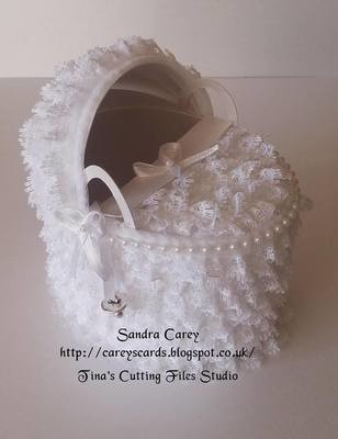 Moses Basket Deep Version  (will hold baby gifts)