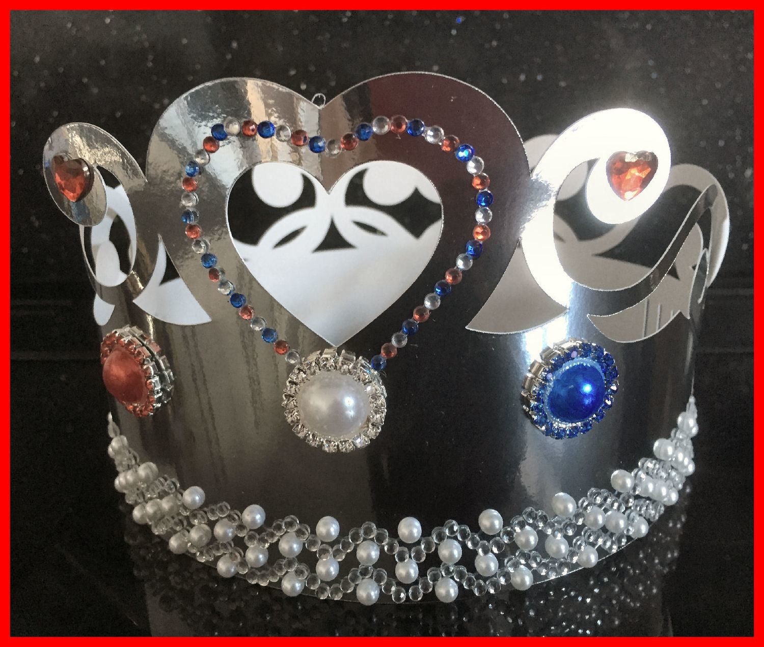 Crown for girls   - royal, party, jubilee, birthday, king
