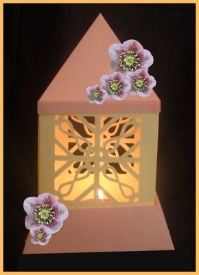 3d MINI  Luminaire - Lantern - Lamp - Filigree Ironwork
