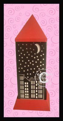 3d Lantern - Lamp - Skyline