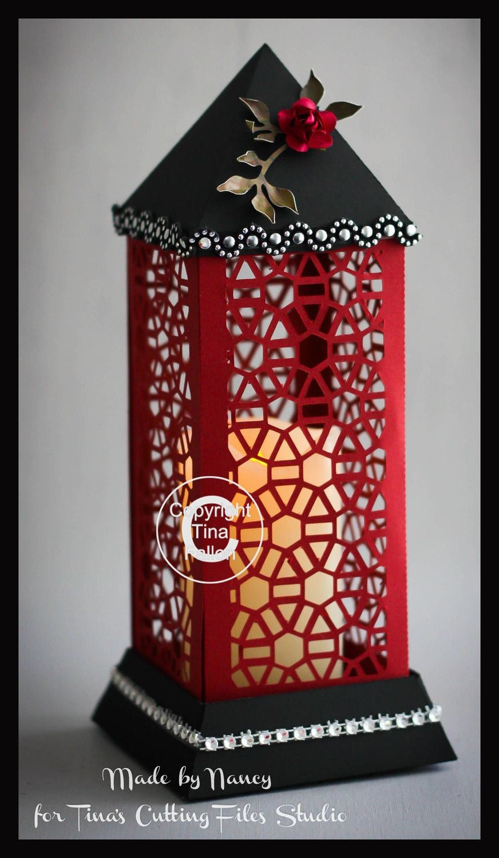 3d Lantern - Lamp - Hexagons