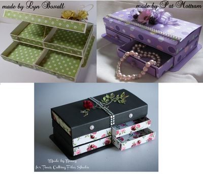 Matchbox Dresser, Jewellery Box,  add any amount of drawers