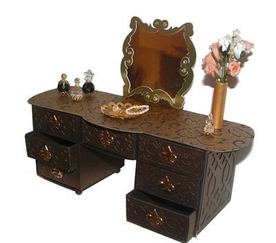 Matchbox Dresser, Dressing Table, Desk