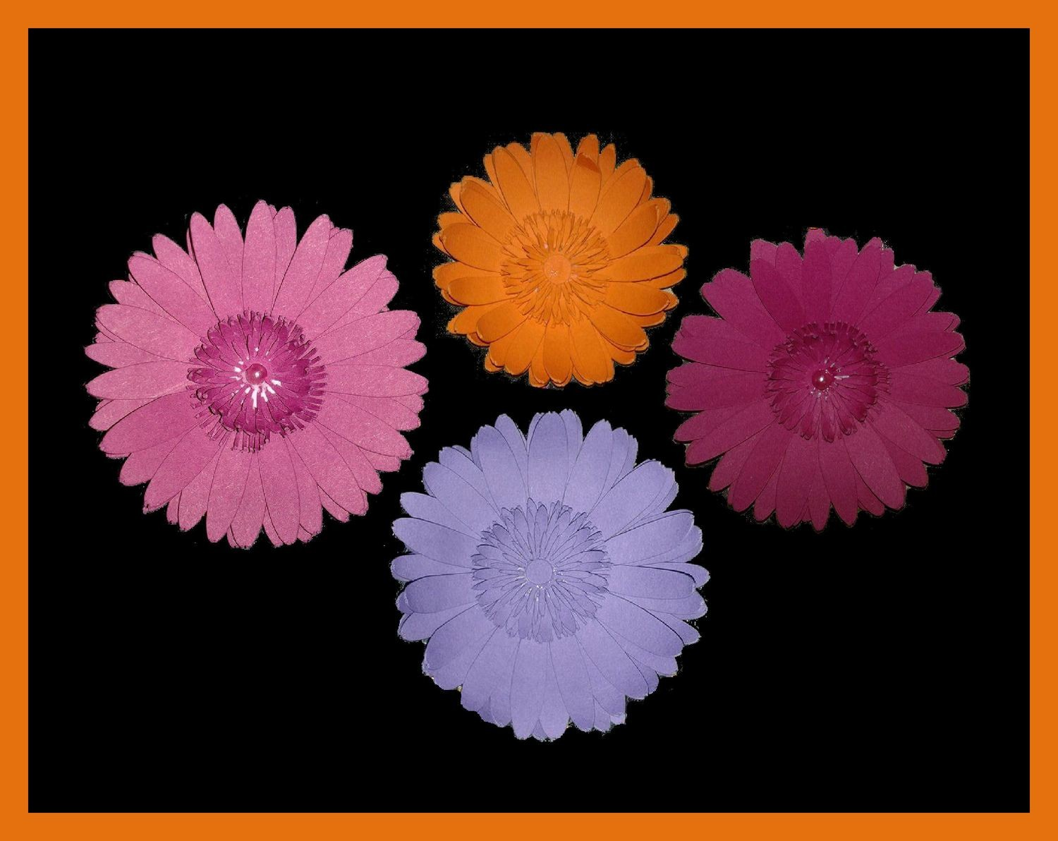 Gerbera 3d flower. . Create your own stunning flowers