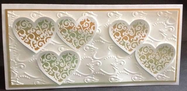 Filigree Wedding Hearts  3 files