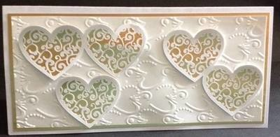 Filigree Wedding Hearts  3 files