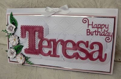 Personalised Name/Word Toppers to order  (5 Layers)