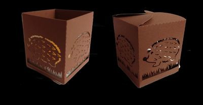 Luminaire or Gift Box Hedgehog 2 files
