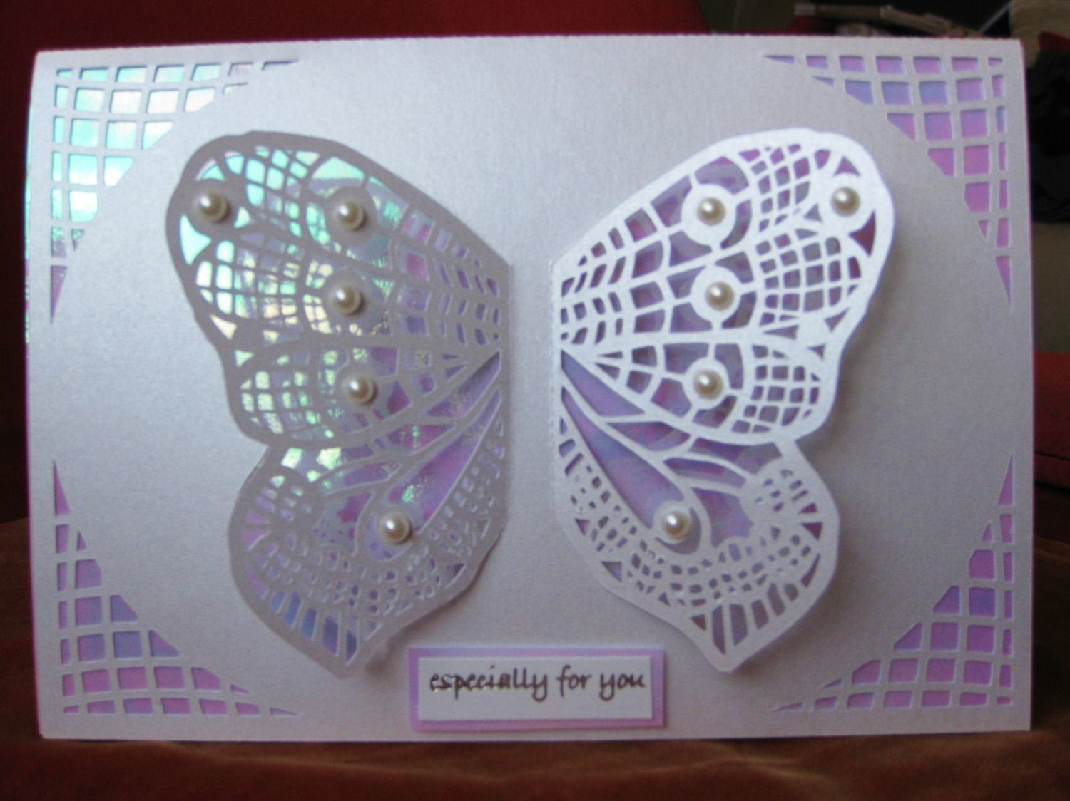 butterfly card pop out wings