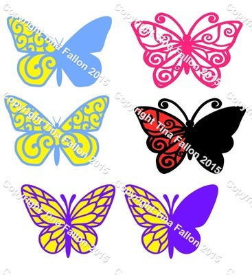 Butterfly / Butterflies Selection 1