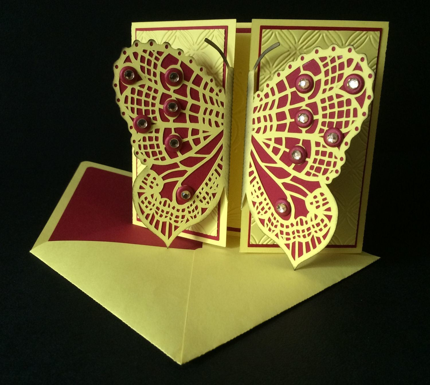 Butterfly Gatefold with Envelope