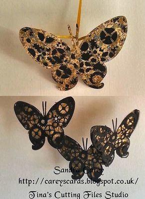 Steampunk Butterfly Topper