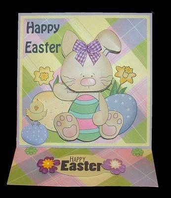 Easter Card 3   studio print n cut.