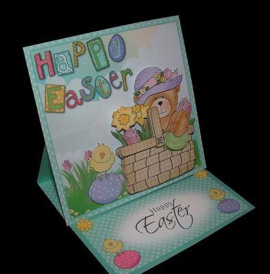 Easter Card 1   studio print n cut.