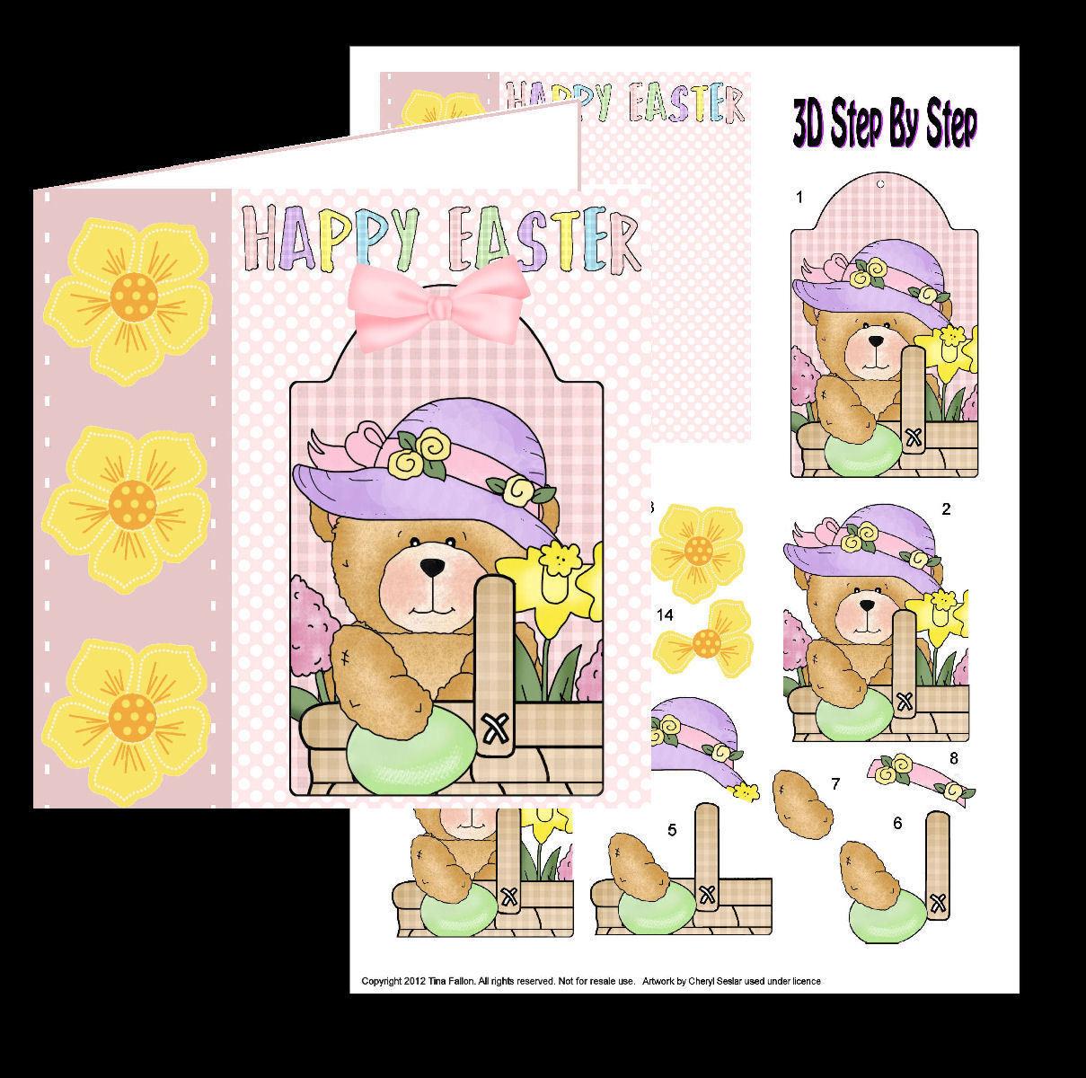 Easter Card 4   studio print n cut.