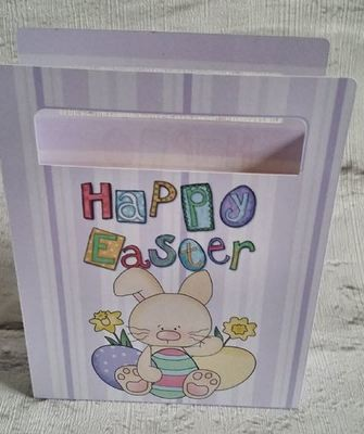 Cute Easter Chocolates Gift Bag  No 9-  print n cut studio cutting file